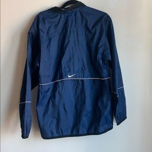Nike blue pullover wind jacket